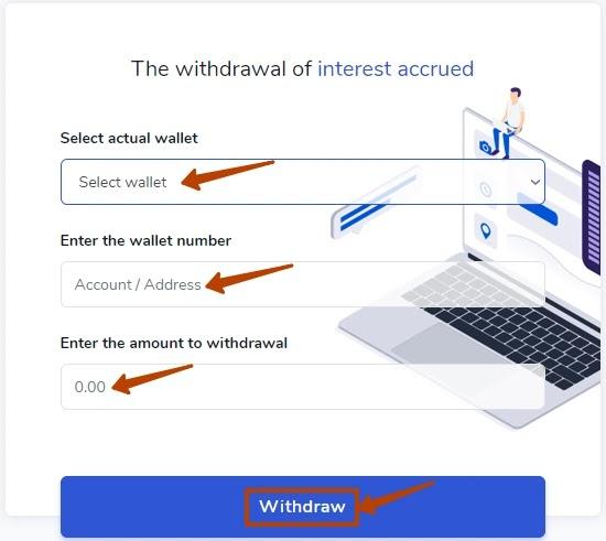 Вывод средств в AllowMore 2