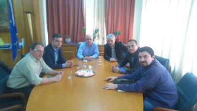 Συνάντηση του Δ.Σ. της Π.Ο.Σ.Γ. με την ηγεσία του ΥΠ.Α.Α.Τ.