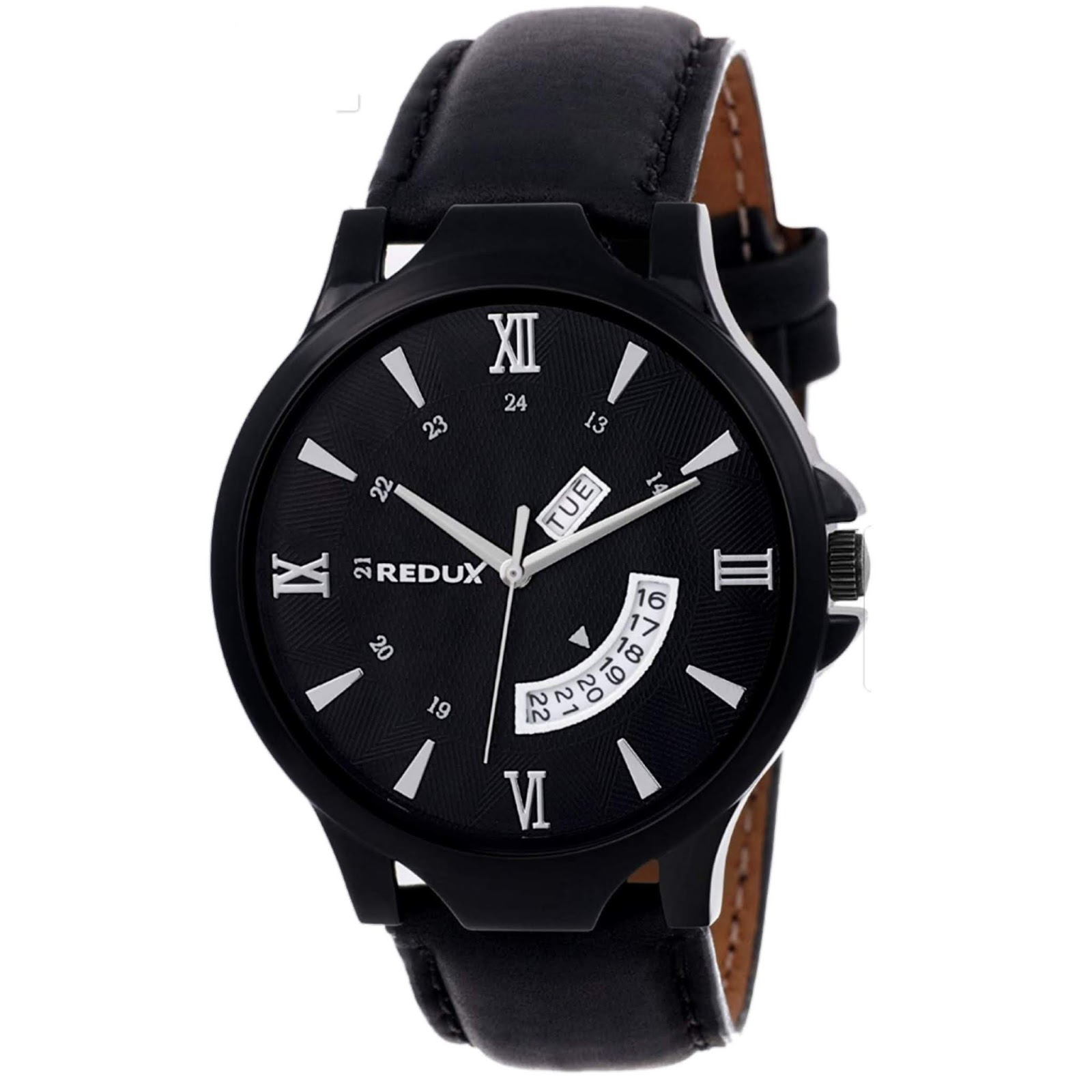 REDUX Analogue Black Dial (Best Mens Watches Under ₹500)