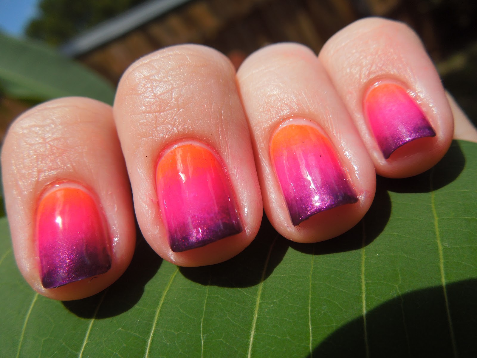 Pretty In Polish: Florida Sunset Nails