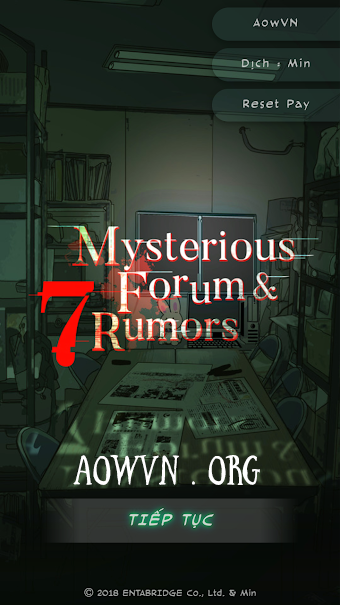 mysterious forum viet hoa aowvn%2B%25284%2529 - [ Visual Novel ] Game Mysterious Forum and 7 Rumors Việt Hóa | Android - Lôi Cuốn , Hấp Dẫn