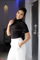 Catherine Tresa Latest Stills in Tight Black shirt ~  Exclusive 24.JPG