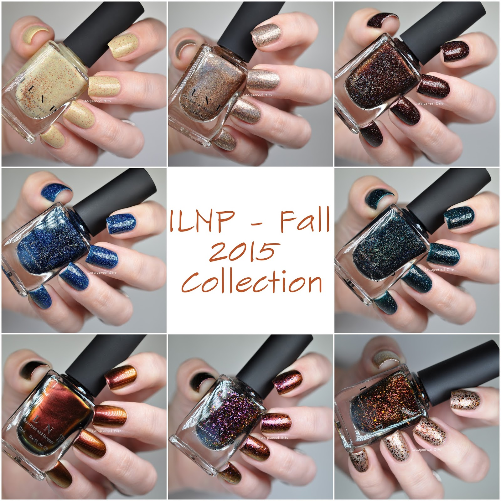 ILNP - Fall 2015 Collection - My Picks - Swatches & Review ...