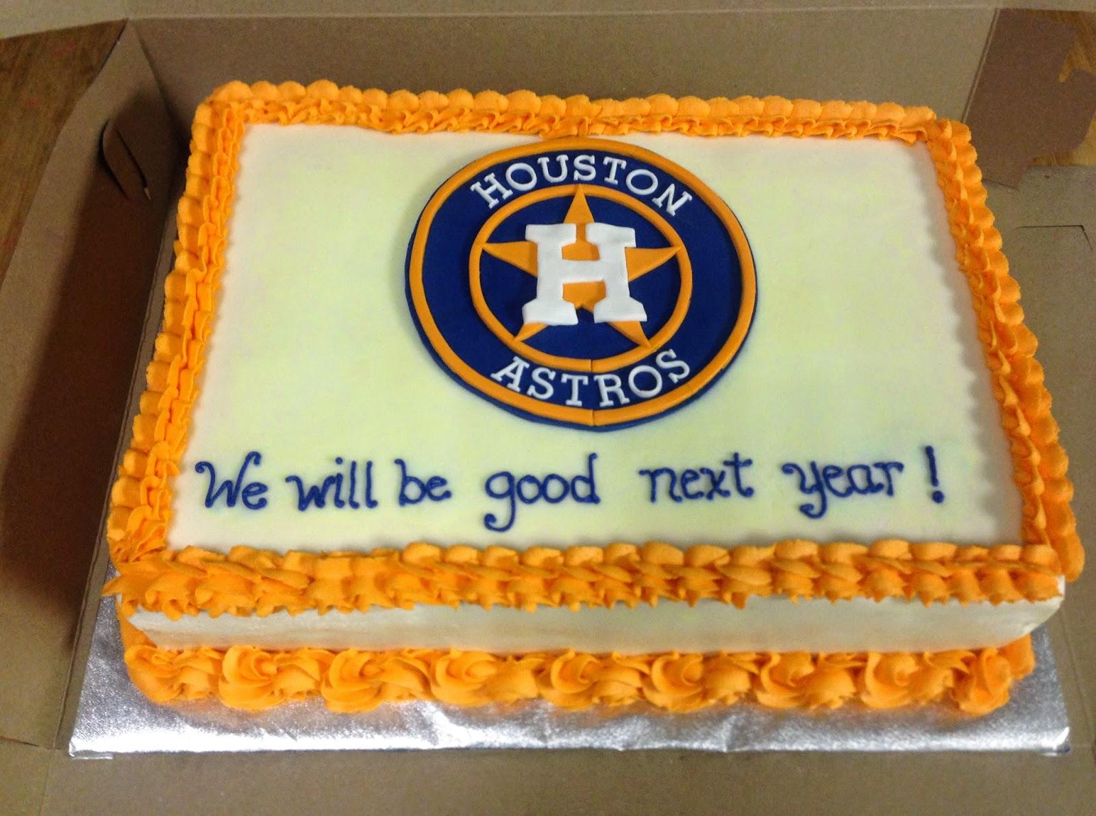 Houston Astros Cake 10 X 15