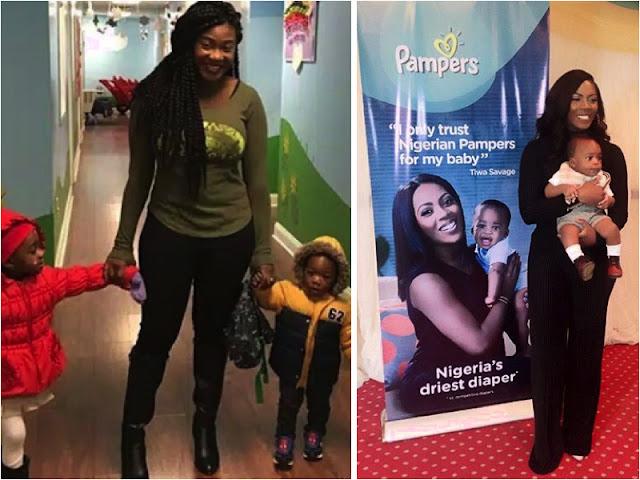 Mercy Johnson and Tiwa Savage