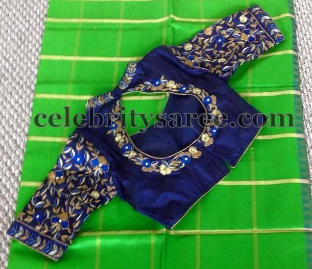 Elbow Length Saree Blouses