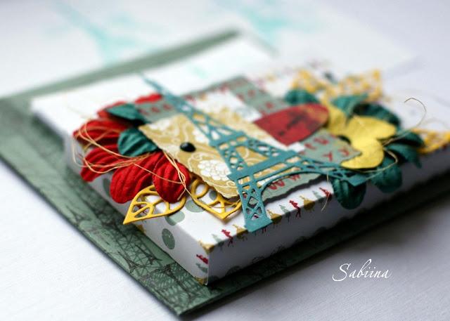 Декоративный магнит на холодильник, краски Парижа, подарок ручной работы, сувенир своими руками, что подарить на новоселье, что подарить женщине, как украсить кухню