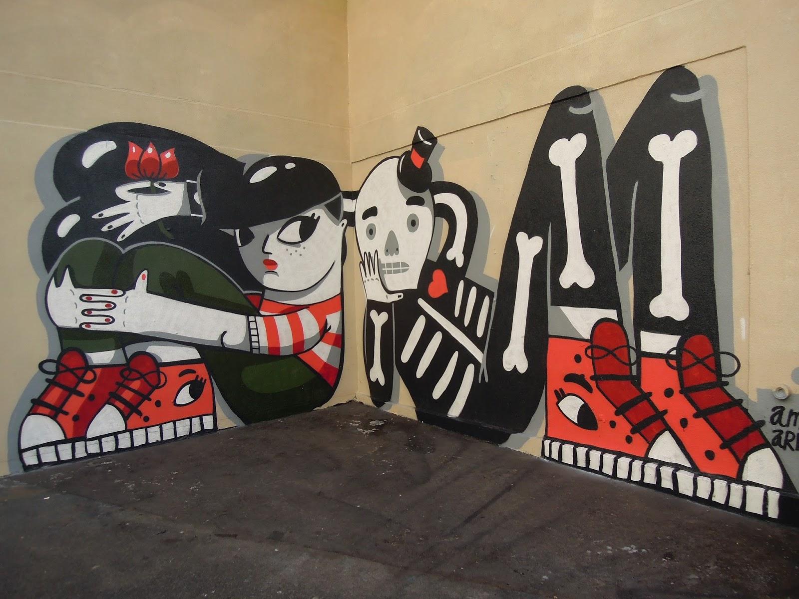 street artistes Amaia Arrazola