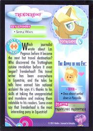 My Little Pony Trenderhoof Series 3 Trading Card