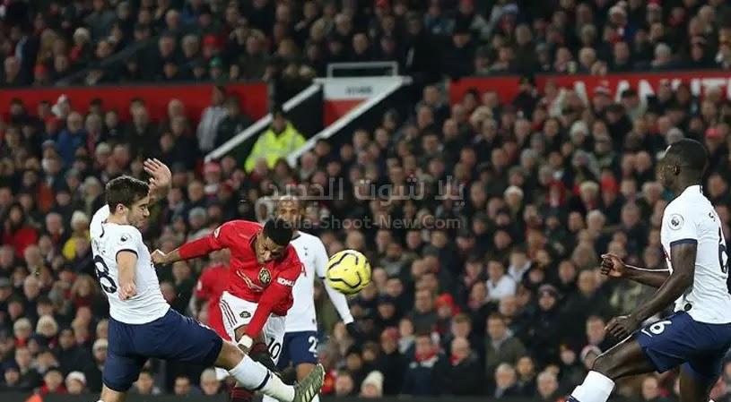 مورينيو يسقط امام فريقه السابقه مانشستر يونايتد بالخساره بهدفين لهدف مع توتنهام في الدوري الانجليزي