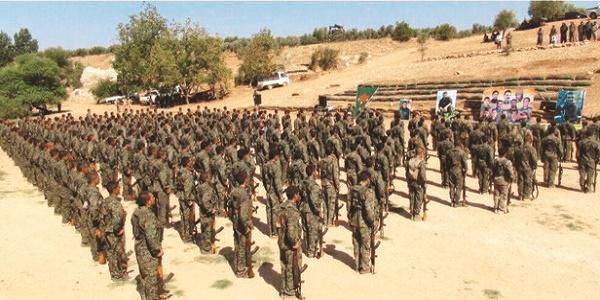 Εκατό χιλιάδες κουρδικός στρατός στα σύνορα Συρίας - Τουρκίας!
