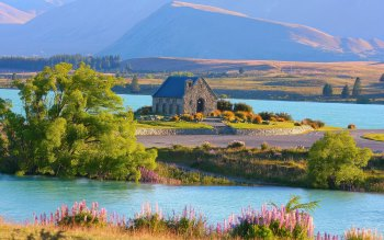 Wallpaper: Lake Tekapo