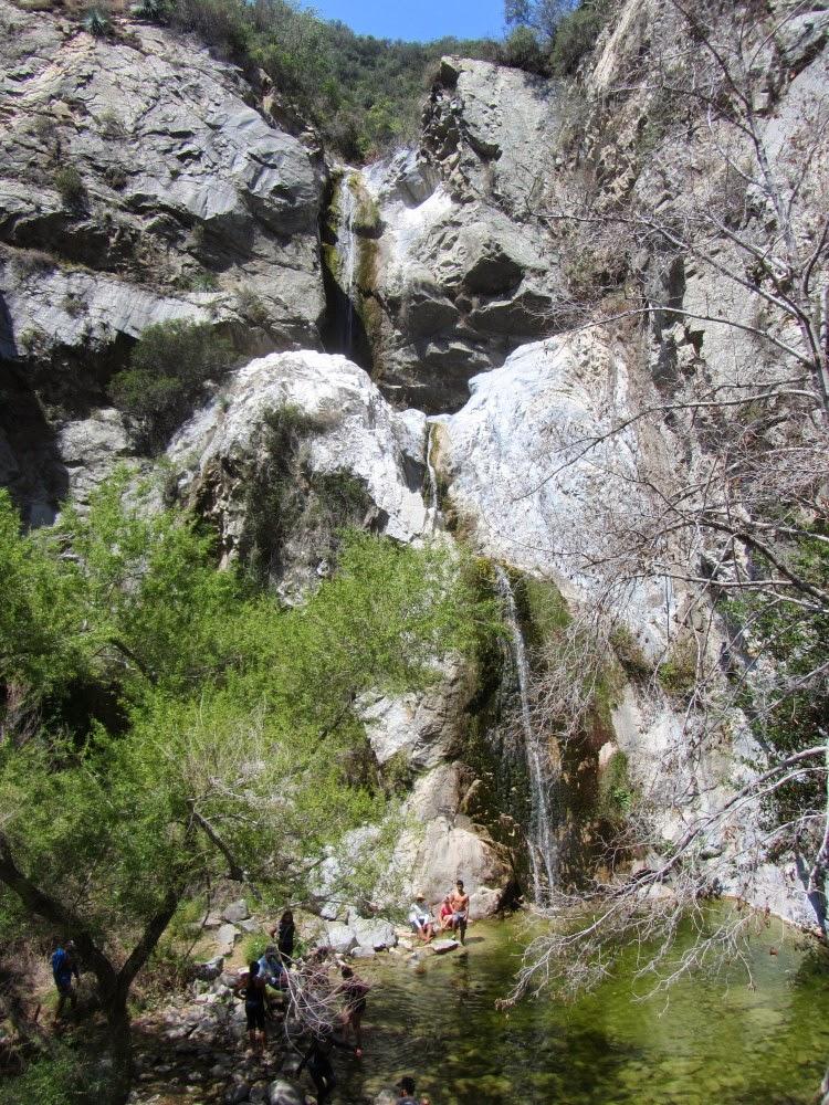Hiking to Fish Canyon Falls - SoCalHiker.net