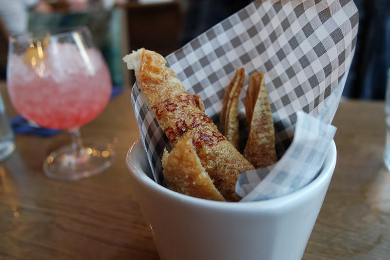 Pork Crackling at Blue Pig NQ