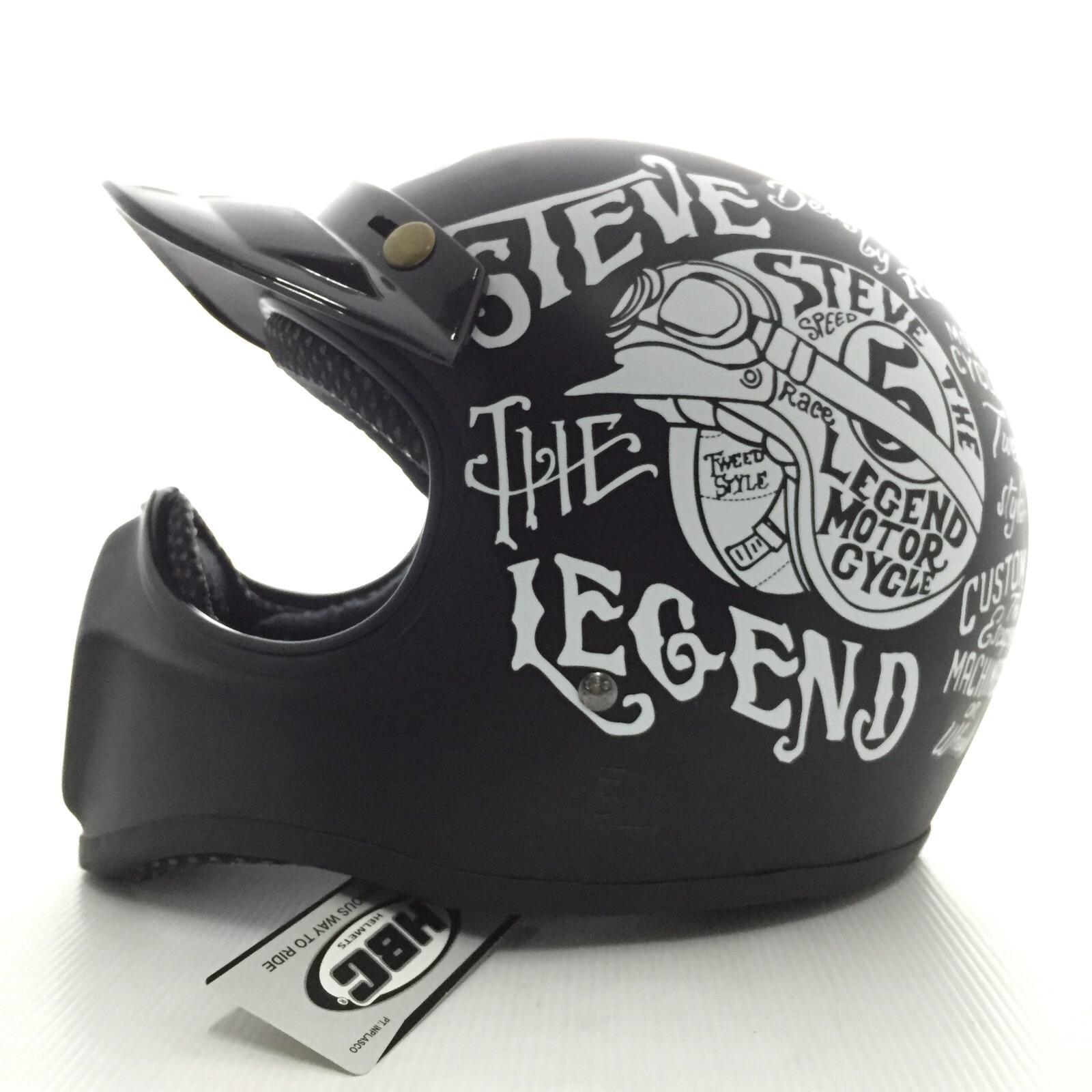 Helm Cakil Hbc Hitam Doff Daftar Harga Terbaru Dan Terlengkap Rust Dust Emas Steve Legend Black