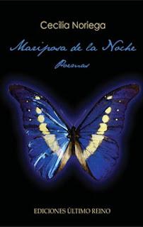 Su libro: MARIPOSAS DE LA NOCHE