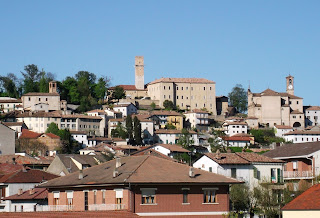 Murisengo is in the hills to the east of Turin