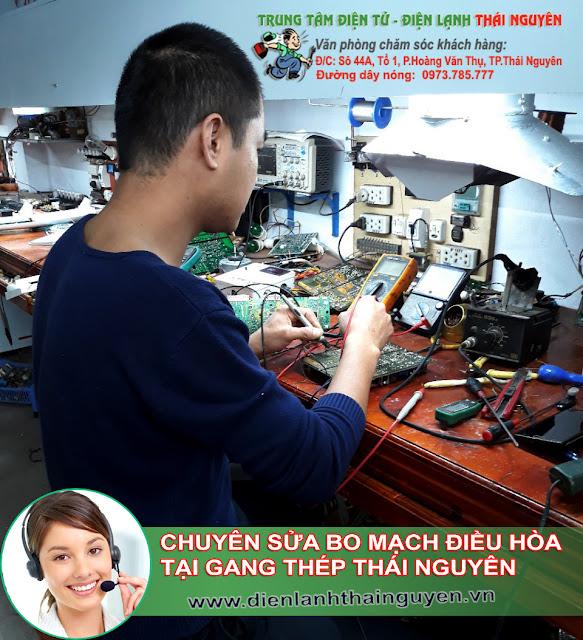 Sửa bo mạch Điều Hòa tại Gang Thép Thái Nguyên
