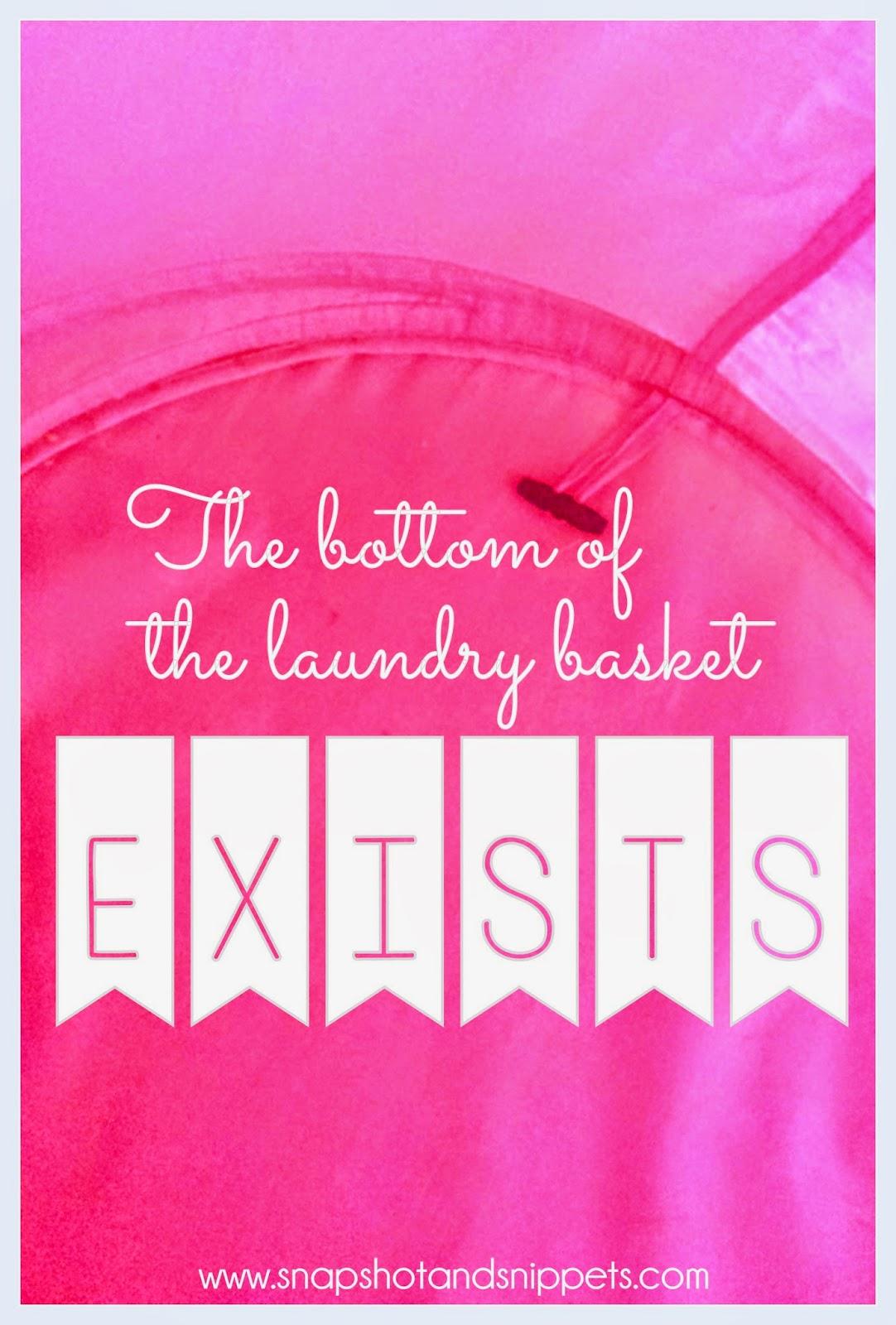 Bottom of the Laundry Basket