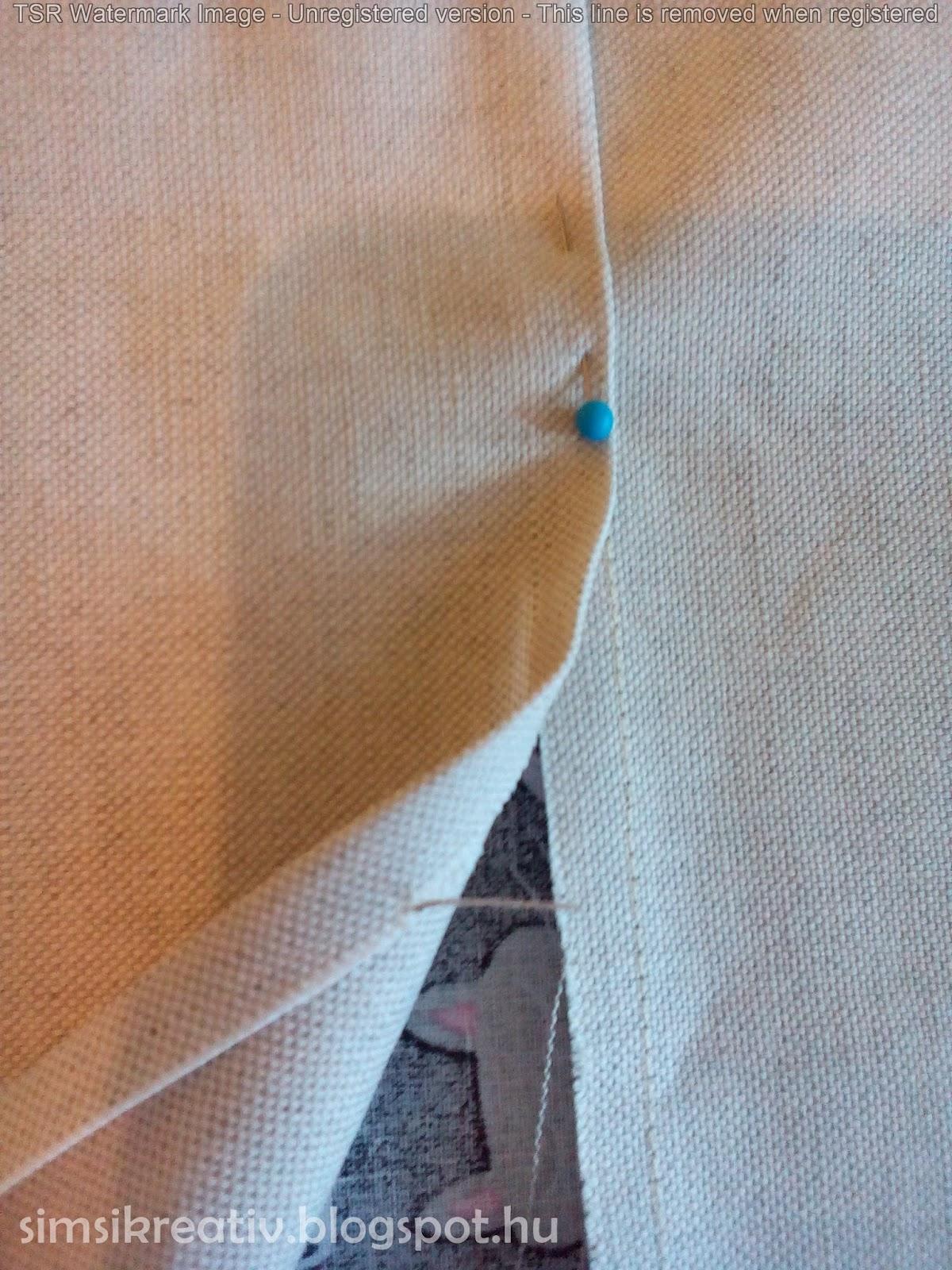 Ezután a két táskalapot színt színre fektetve 1ddd0d0aad