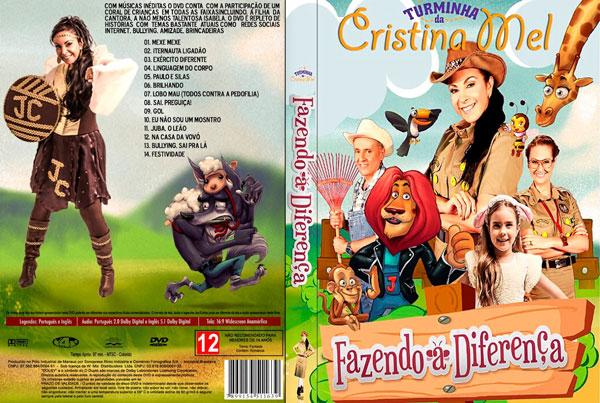 cd gospel infantil cristina mel