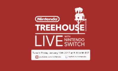 Nintendo switch Treehouse pics
