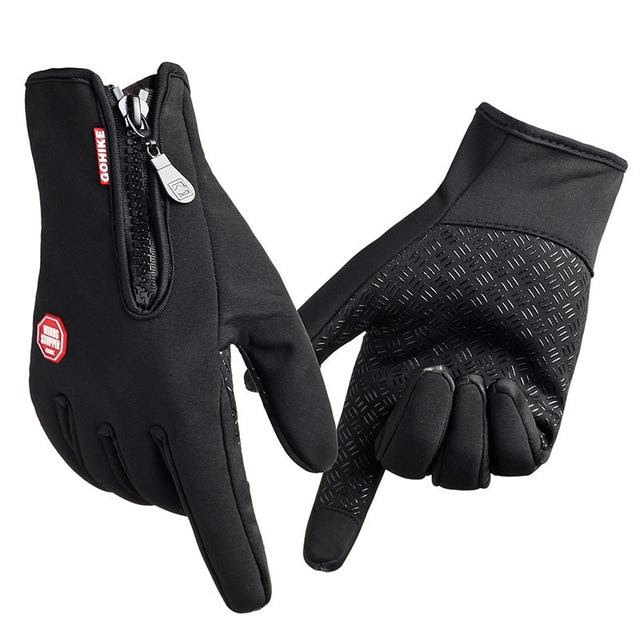 Waterproof Winter WarmTouch Screen Gloves with Grip