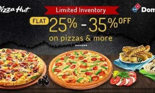 comparison between pizza hut and dominos Dominos and pizza hut are both fierce competitors in the market contemporary pizzas and two were caught competing in the same niche market that has same market demographic characteristics and hence comparison between the two is based on a level ground.