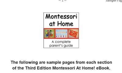 تحميل كتاب montessori at home -Third Edition sample pages