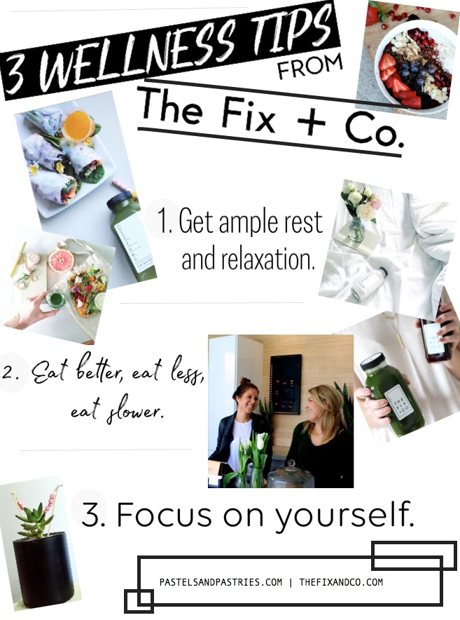 3 Wellness Tips to get on track for the New Year- The Fix + Co