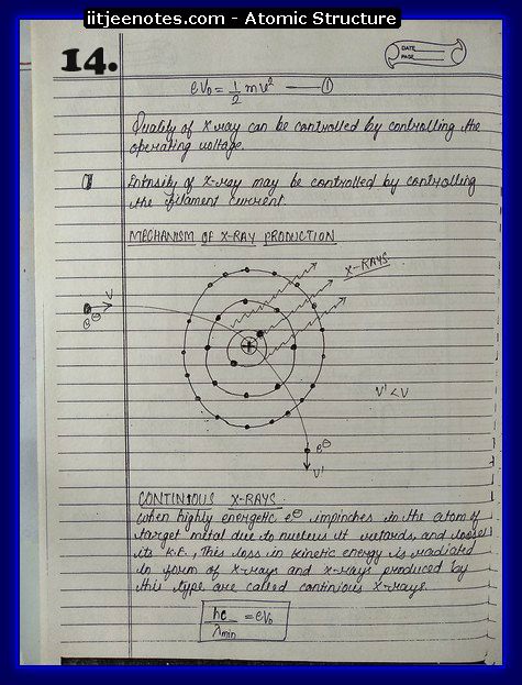 Atomic Structure Notes 4