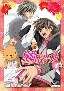 Junjou Romantica: Junjou Romantica Season 1 DVD covers