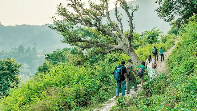 Hiking near Marchula