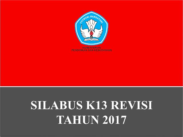 Silabus Matematika, PJOK dan Tematik Revisi 2017