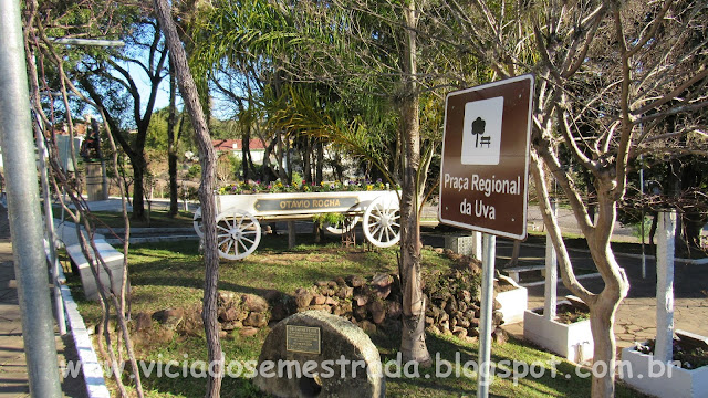 Praça Regional da Uva, Otávio Rocha, Flores da Cunha, RS