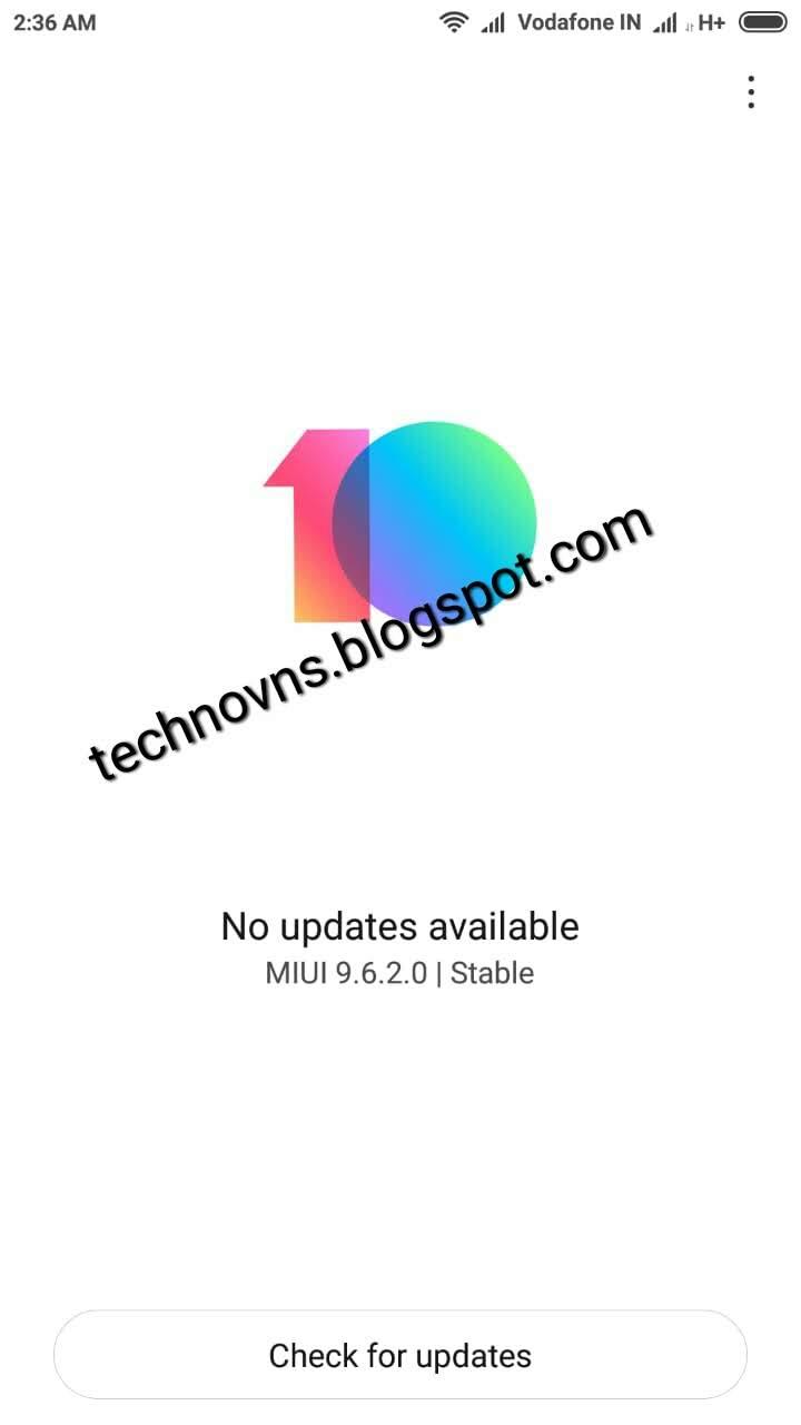 MIUI Global 9 6 2 0 (MHOMIFD) Stable Update With Split
