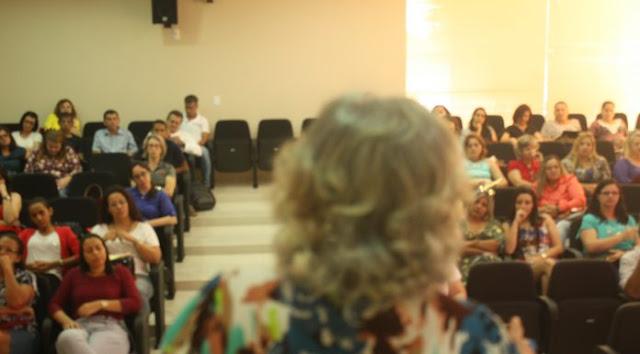 Maria do Socorro Pessoa, Coordenadoria de Educação da Seduc realiza Seminário de Linguagens no auditório do TCE