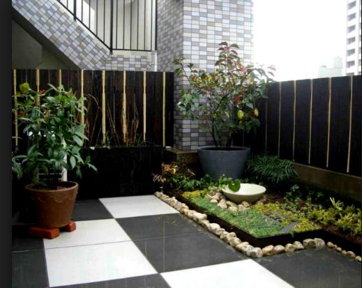 Membuat Taman Yang Teduh Di Depan Rumah Minimalis Anda