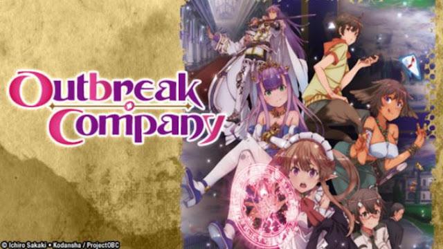 Anime Parody Terbaik - Outbreak Company