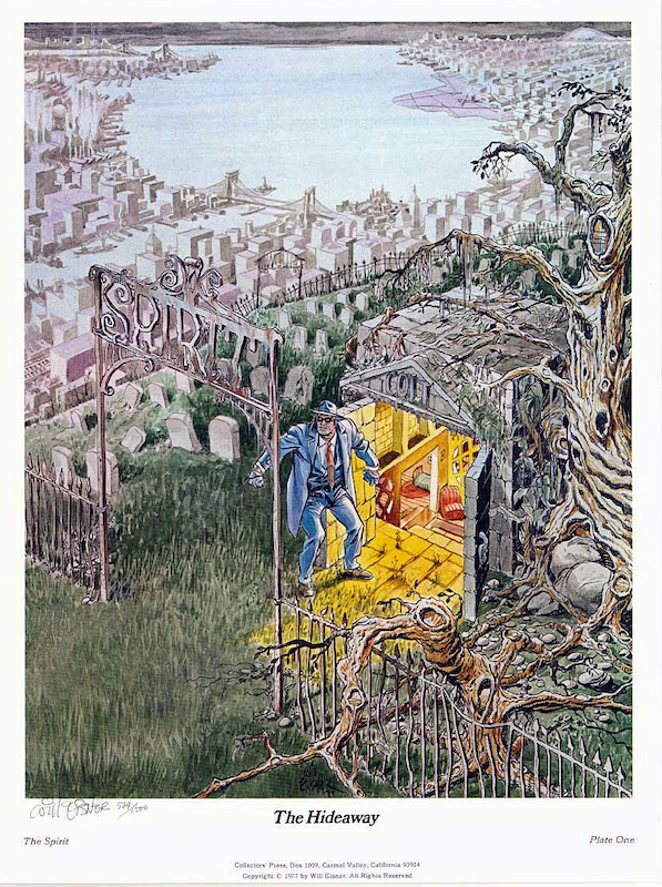 The Spirit: The Hideaway, by Will Eisner.