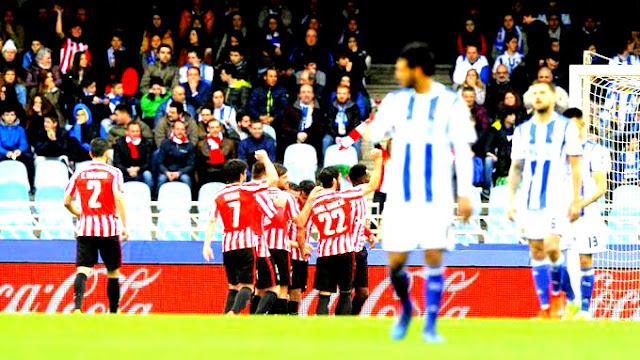 Athletic venceu o dérbi basco para seguir sonhando grande na temporada