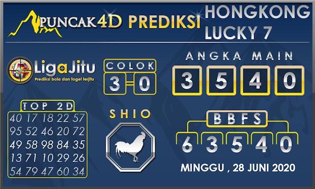 PREDIKSI TOGEL HONGKONG LUCKY 7 PUNCAK4D 28 JUNI 2020