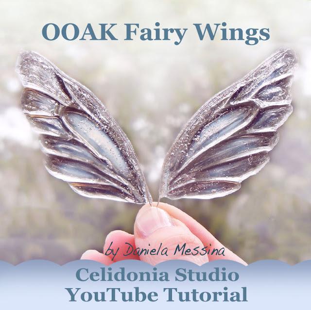 Ali di Fata ooak - Fairy Wings Tutorial by Daniela Messina - Celidonia