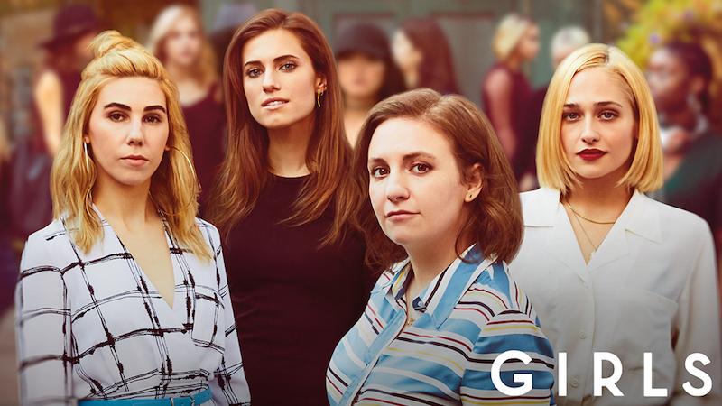 Poster promocional de la última temporada de Girls, serie de HBO