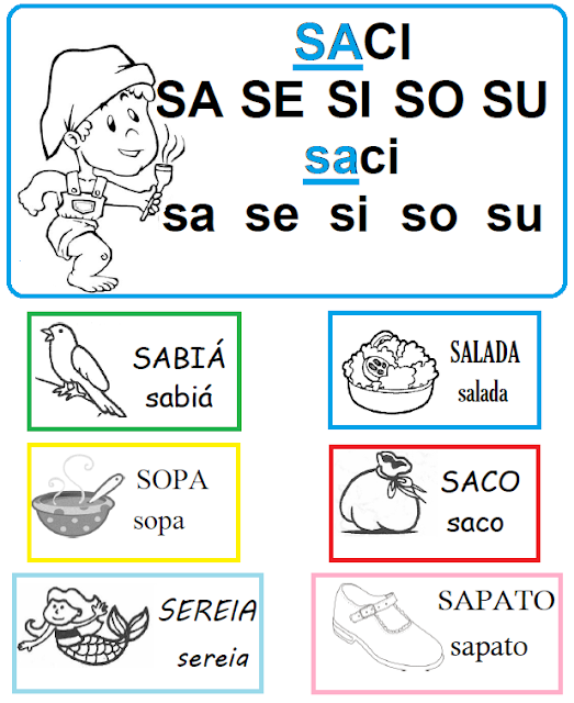 Palavras com SA - SE - SI - SO - SU