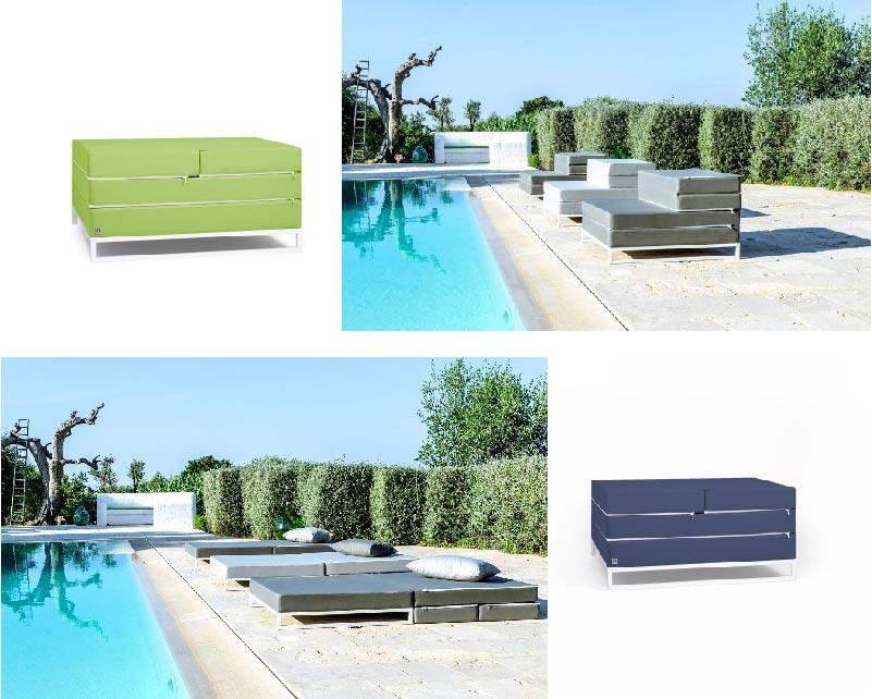 Diverso tavolino,poltrona, letto prendisole di Arketicom Design