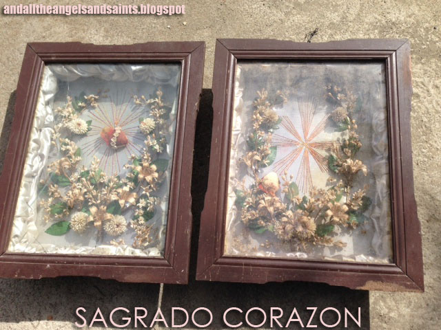 Shadow Box Frames Flowers