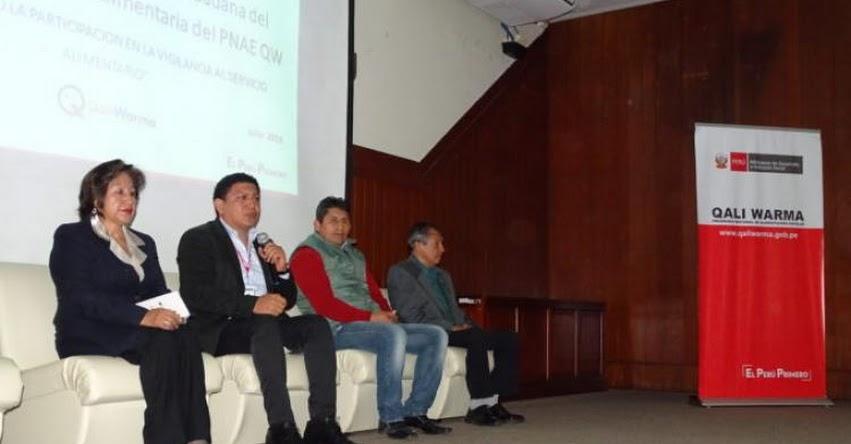 QALI WARMA: Priorizan vigilancia social en cogestión con actores sociales en La Libertad - www.qaliwarma.gob.pe