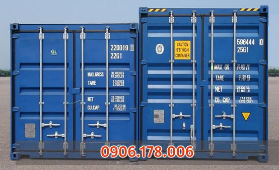 Mua bán container cũ