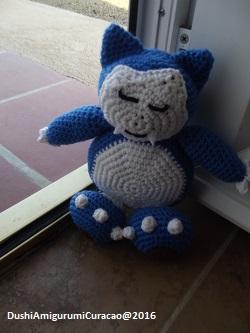 Dushi Amigurumi Curacao Gratis Haakpatroon Snorlax Pokemon